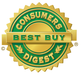 Consumers Digest Best Buy Seal