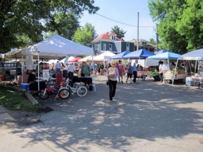 The Bardstown Road Farmers Market in Louisville, KY.