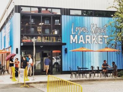 The Logan Street Market in Louisville, KY.