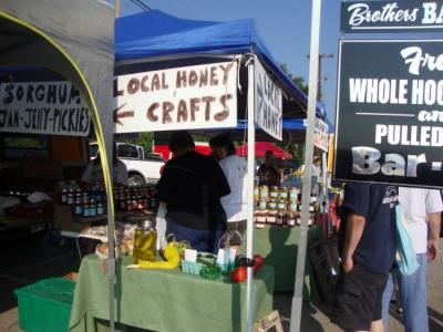 The Southwest Farmers Market in Louisville, KY.