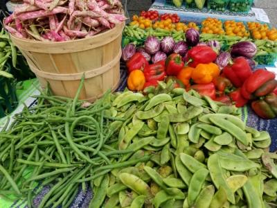 The Gray Street Farmers Market in Louisville, KY.