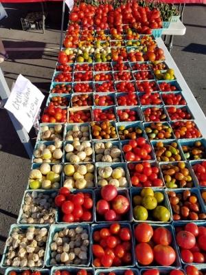 The Jeffersontown Farmers Market in Louisville, KY.
