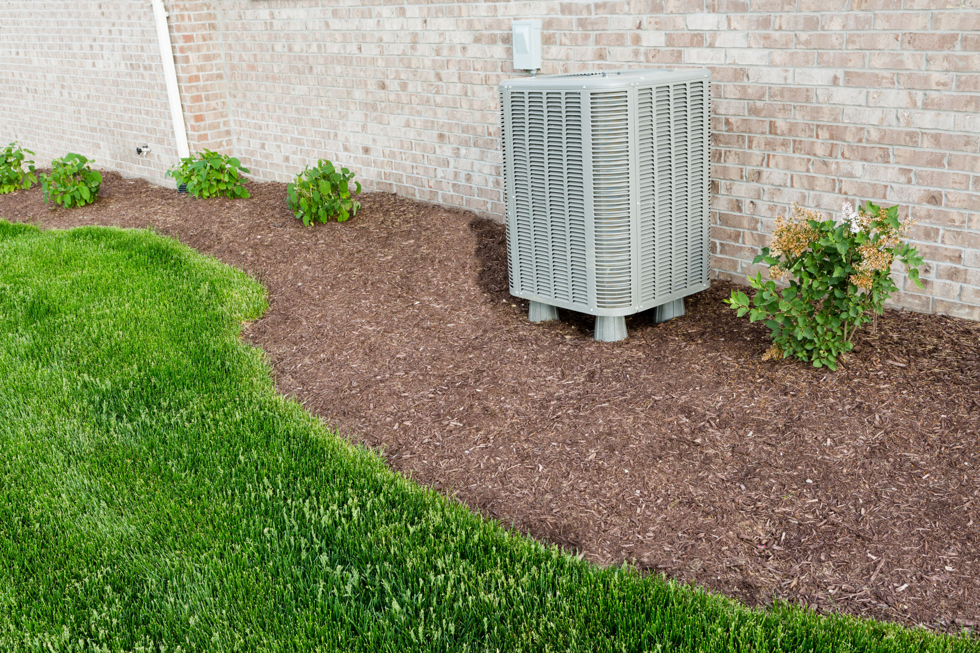 AC unit at a home in Louisville, KY.