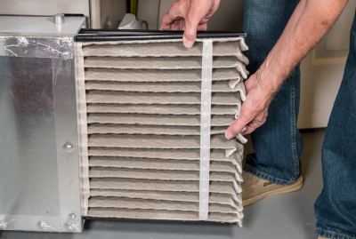 With the varying temperatures in Louisville, KY, a clogged air filter can reduce the efficiency of your HVAC system.