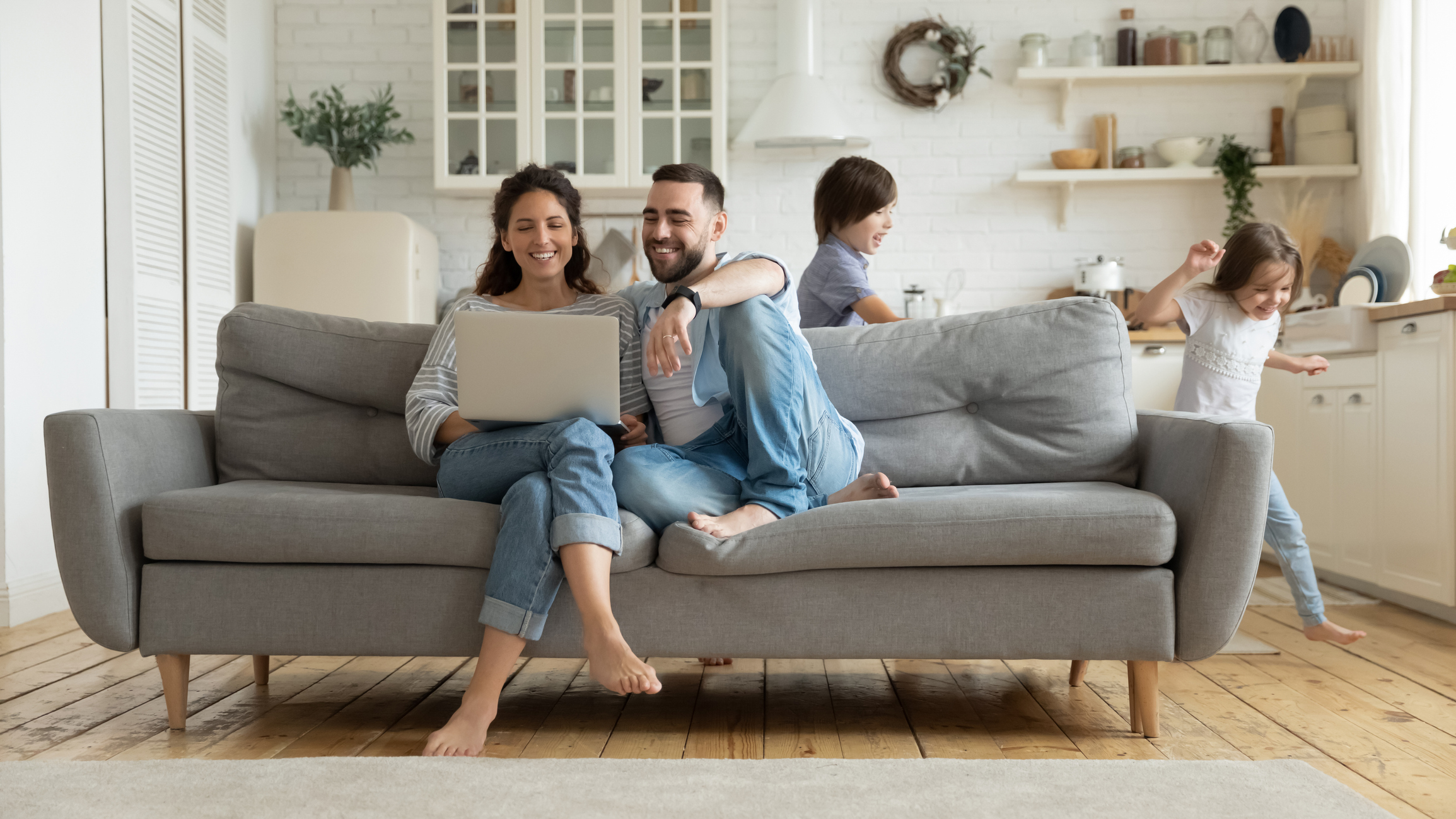 Having a comfortable home is a benefit of a well working HVAC system.