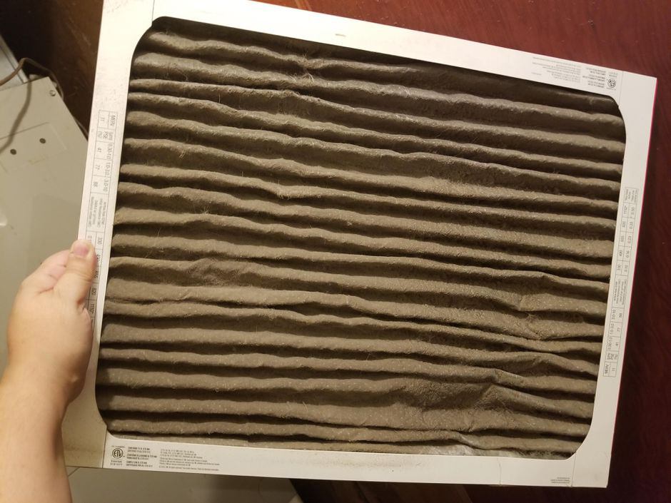 Dirty filters are a common HVAC problem.