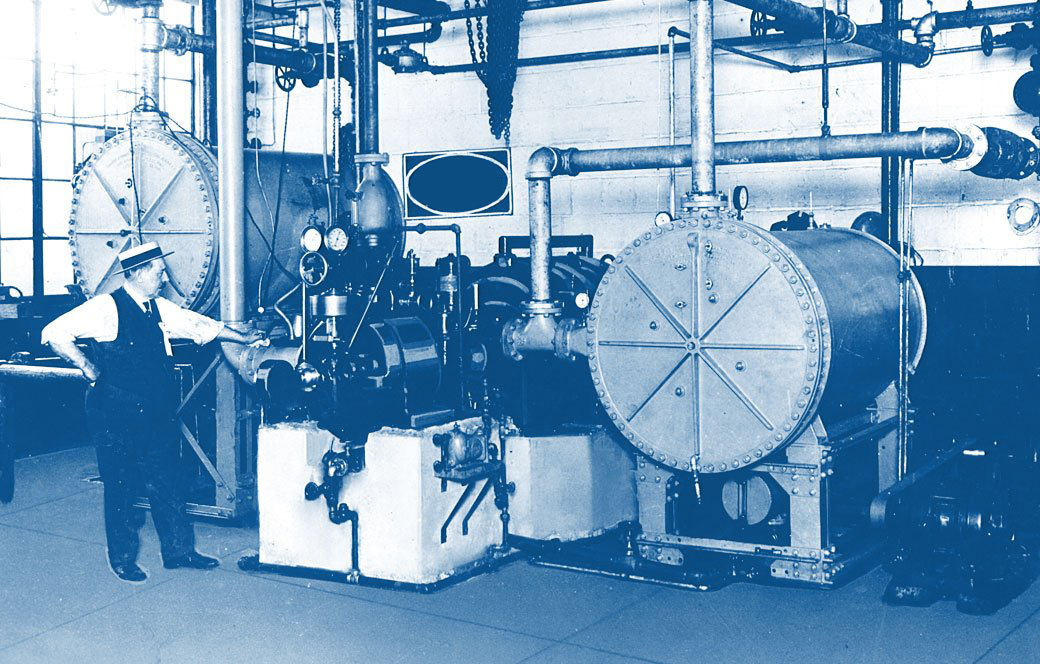 The first well-designed cooling system from 1922.